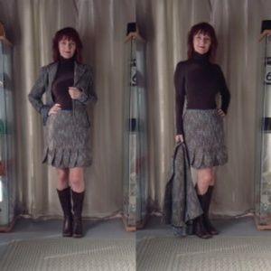 ABS Allen Schwartz Dresses & Skirts - ALLEN B SCHWARTZ  PC BOUCLE SKIRT SUIT