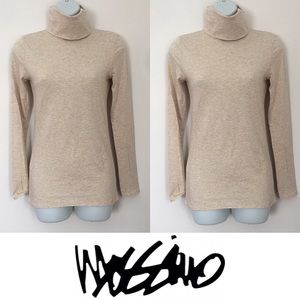 Mossimo Supply Co Tops - 🍍CLEARANCE🍍 Mossimo Cream Turtleneck Long Sleeve