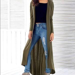 ✨RESTOCKED Hooded Long Sleeve Maxi