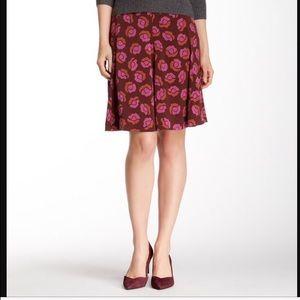 Diane von Furstenberg Dresses & Skirts - NWT DVF ROSE RED GARNET ROSALITA SILK SKIRT