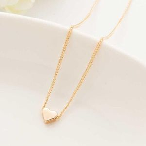 Jewelry - SALE 🎉💛 GOLD Heart Dainty Pendant Necklace