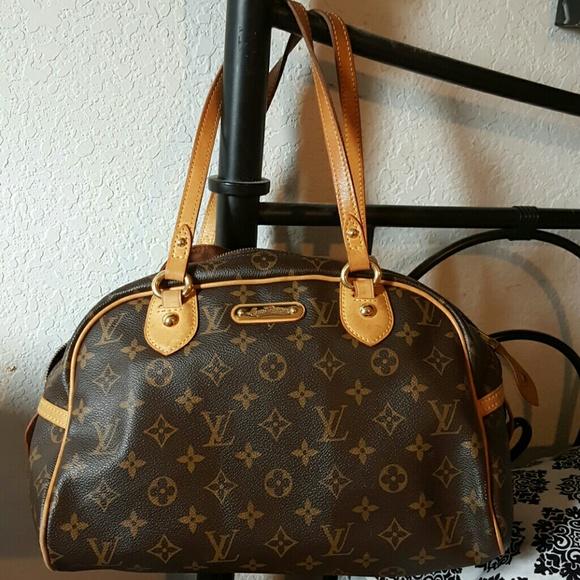 d57ff18a9dea Louis Vuitton Handbags - Used authentic louis vuitton purse montorgueil pm