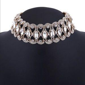 Jewelry - Black Crystal Choker