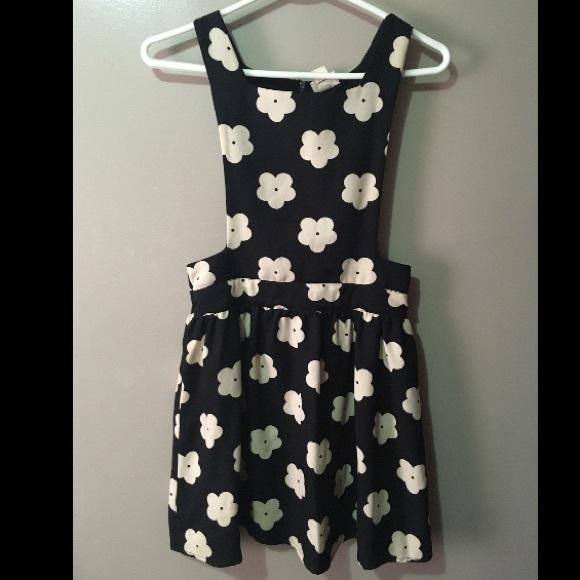 One Clothing Floral Jumper Dress