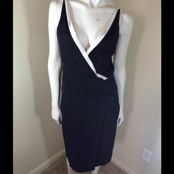 427796cd19 Narciso Rodriguez Black Spaghetti Strap Dress