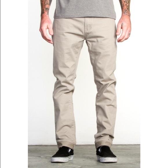 809196c4 RVCA Pants | Daggers Twill | Poshmark