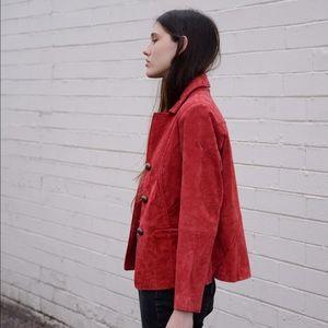 Vintage Ruffhewn Suede Jacket