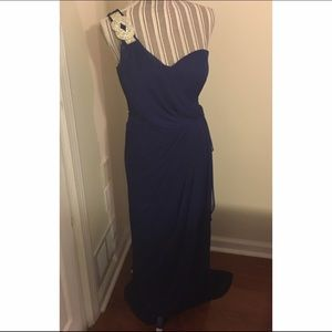 Xscape Dresses & Skirts - Beautiful Blue Formal Gown w/ Silver Accent
