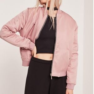 Missguided Jackets & Blazers - Missguided Soft Touch Bomber Jacket