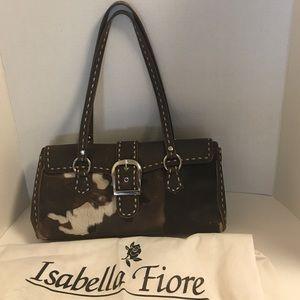 Isabella Fiore Handbags - Vintage Isabella Fiori pony hair shoulder bag