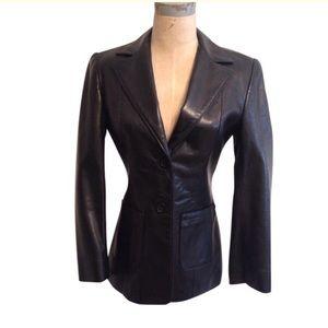 bebe Jackets & Blazers - NWOT [bebe] Black Leather Jacket, Size 2