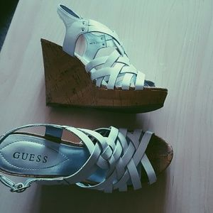 Guess Shoes - Guess Eppie Wedge Sandal Size 8.5