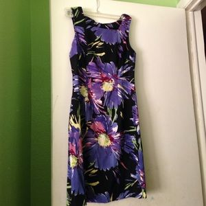 connected apparel Dresses & Skirts - Size 6 connected apparel dress floral gorgeous!