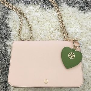 Tory Burch Accessories - ToryBurch Heart bag charm 💚