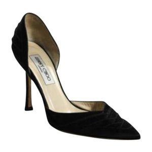 Jimmy Choo black pointed toe heel