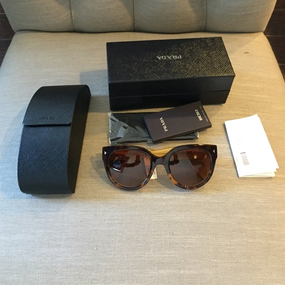8c013bbd2f9f ... buy prada sunglasses. slight cat eye. tortoise shell 2e1de c1e5d