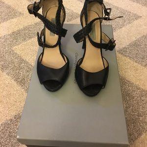 Shoes - Classiques Entier Black Strap Shoes