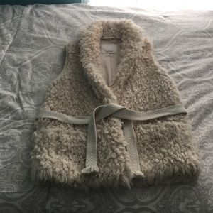 Wilfred xs faux fur sweater