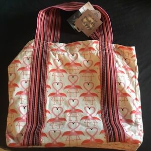 Handbags - Flamingo tote bag