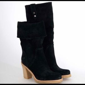 UGG Josie convertible boot in black suede size 7.5