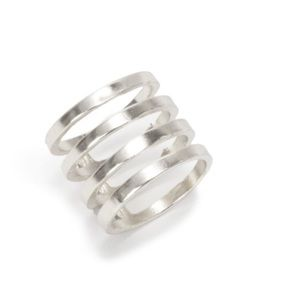 Jewelry - Silver Caged Ring