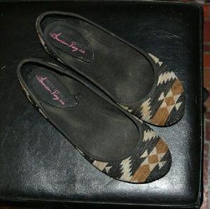 American Rag Shoes - Aztec Flats / 9