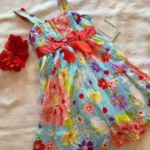 Bonnie Jean Other - 🌹Bonnie Jean gorgeous flower dress size 6 NWT🌹