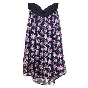 Express Dresses & Skirts - Strapless dress w/ floral print
