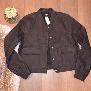 NWT Kate Spade Saturday Bomber jacket
