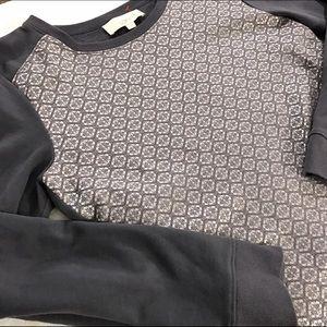 [LOFT] Foil Front Sweatshirt
