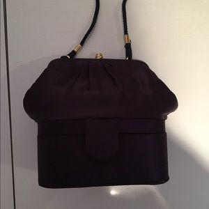 Handbags - Navy Evening Bag