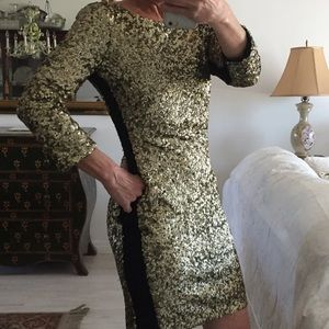 Andrew Marc Dresses & Skirts - Andrew Marc Gold Sequin Dress