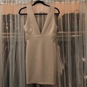 Forever 21 Nude Bodycon Dress