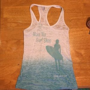 Next Level Tops - NWOT Maui Nix Surf Shop Tank