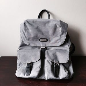 Urban Outfitters Handbags - ❤SALE❤Nylon & Faux Leather Zip Backpack