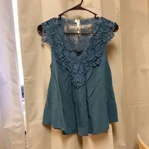 Modcloth lace blouse
