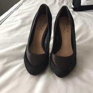 Badgley Mischka Shoes - Badgley Mischka Dark Brown Stilettos