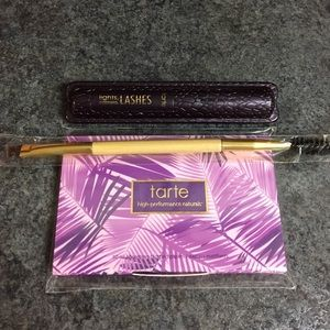 Tarte  blotting papers, lash/brow brush & mascara