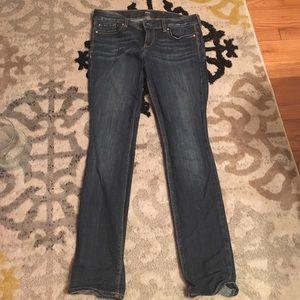 Express Denim - Express straight legged skinny jeans