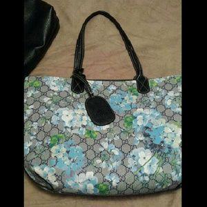 Handbags - Fashion monogram tote. Firm.