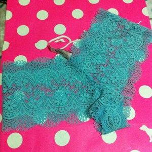 NWT L victoria's secret crochet shortie panty