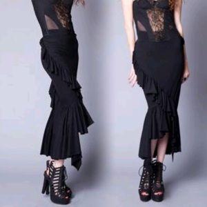 lip service  Dresses & Skirts - Lip service ruffle skirt