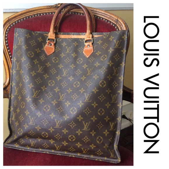 b72fb022bc9d Louis Vuitton Handbags - AUTHENTIC Louis VUITTON Sac Plat shopping Bag Vtg