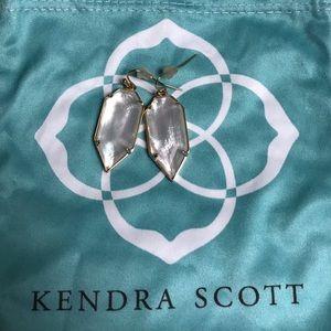 Kendra Scott Ivory Pearl Palmer Earrings 