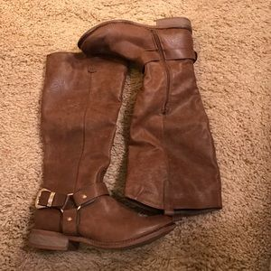 Cathy Jean Shoes - Cathy jean tall leather women's boots. Size 10