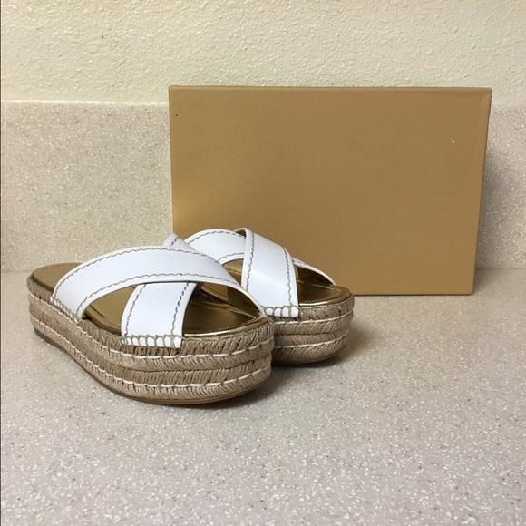 764b1cdf261 Prada Donna Mule Espadrille Sandal White size 38.5