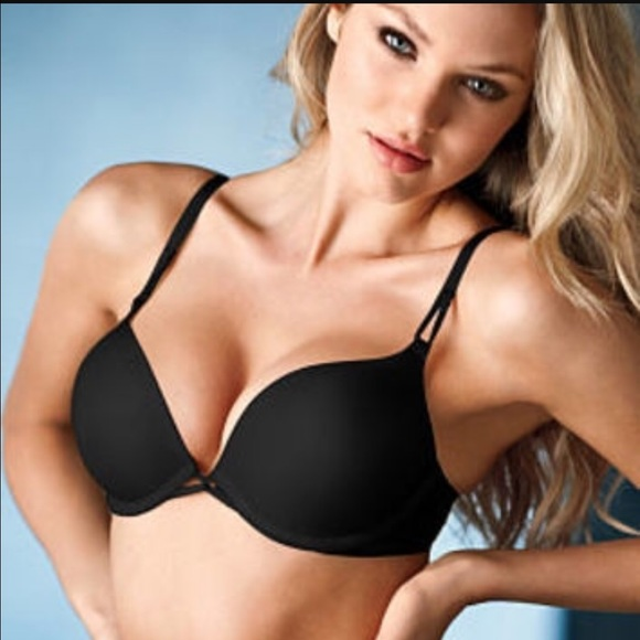Victoria's Secret - 🚩SALE🚩NWT VICTORIA'S SECRET BLACK PUSH UP ...