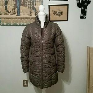 UGG Jackets & Blazers - Ugg grey coat with purple lining