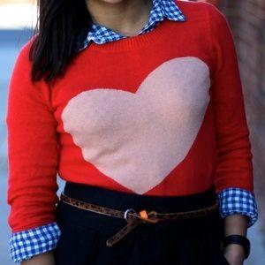 J. Crew Sweaters - ❤ J.CREW heart sweater ❤