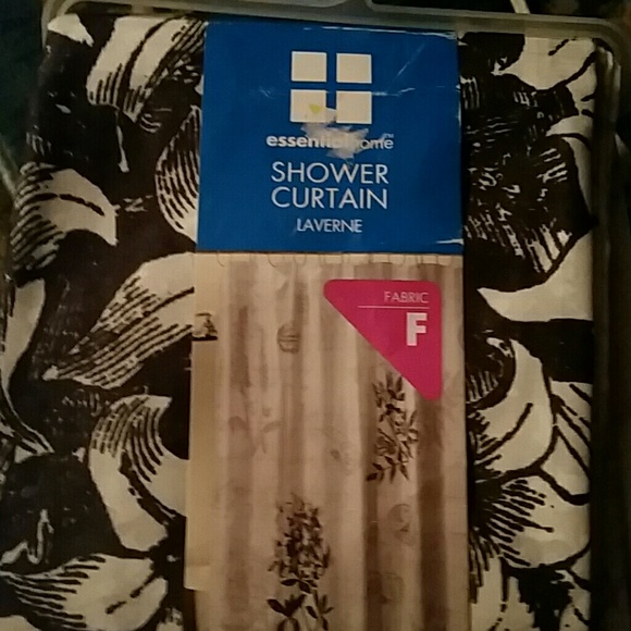 Essential Home Shower Curtain Fabric I Have 2
